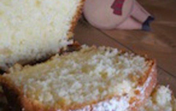 Cake moelleux aux citrons confits