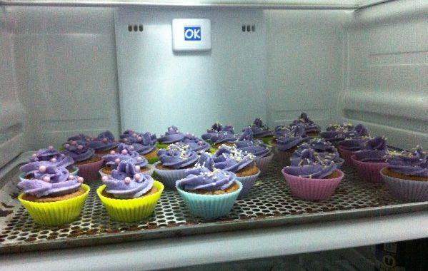 Cupcakes fourrés à la crème de citron