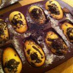 Madeleine citron-chocolat