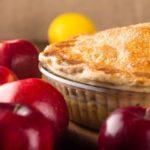 Apple pie fondant au caramel