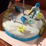 Gâteau anniversaire spéculoos praliné