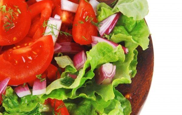 Salade de tomates à l'échalote