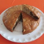 Gâteau aux éclats de marrons et de chocolat