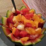 Salade de fruits ensoleillée