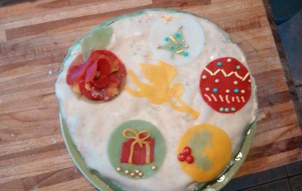 Biscuit de Savoie fourré à la crème au beurre