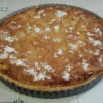 Tarte normande pomme abricot avec deux pâtes