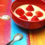 Gratin de fraises à la crème d'amandes
