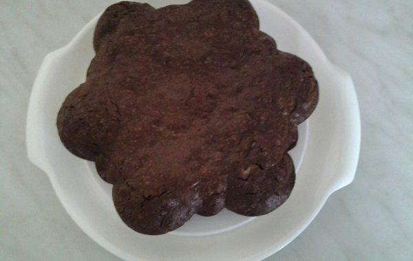 Gâteau chocolat et amandes façon brownie