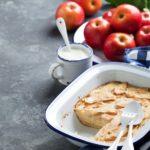 Clafoutis aux pommes rapide