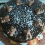 Moelleux à la noix de coco nappé de chocolat