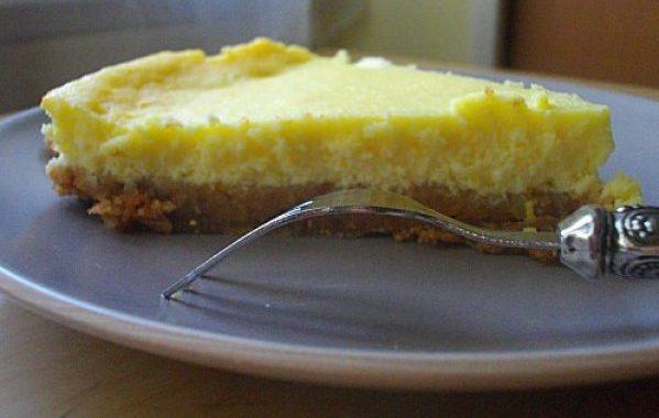 Cheesecake aux canistrellis et au limoncello