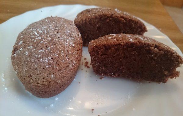 Gâteau chapelure et chocolat