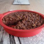 Pudding au lait d'amande chocolat et fève de tonka