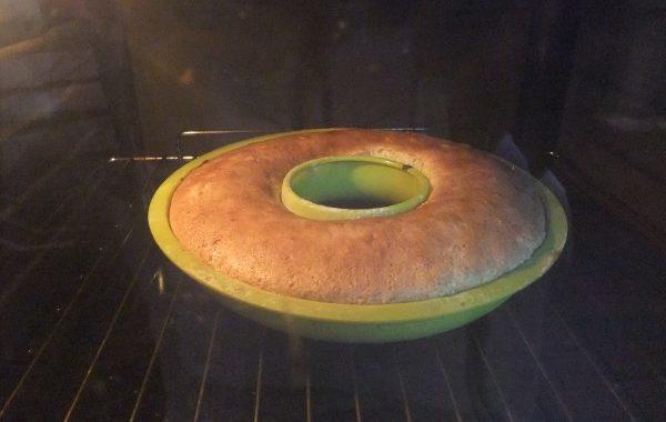 Gâteau citron raisins blonds