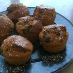 Muffins á la Noix de coco avec pépites de chocolat