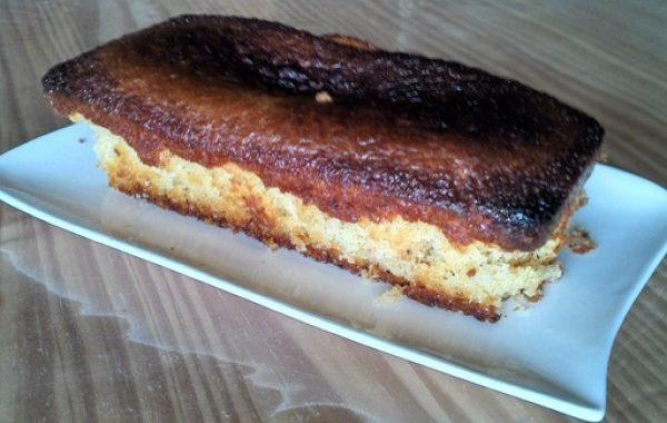 Gâteau au yaourt praliné aux 3 sucres