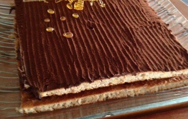 Succès au chocolat simple