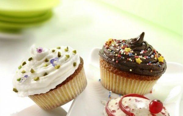 Base gâteau nature pour cupcakes
