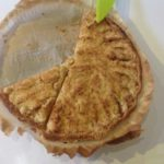Crumble-tarte aux pommes