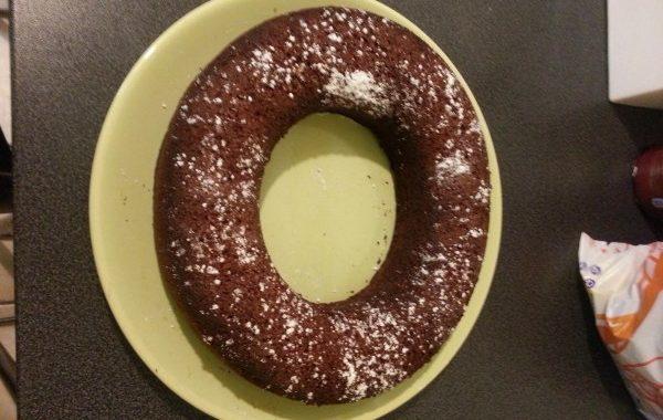 Gâteau au chocolat, au citron et gingembre