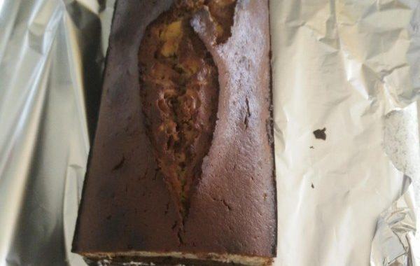 Cake aux trois chocolats