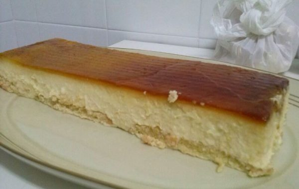 Gâteau ananas frais sans cuisson