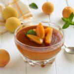 Pudding aux abricots