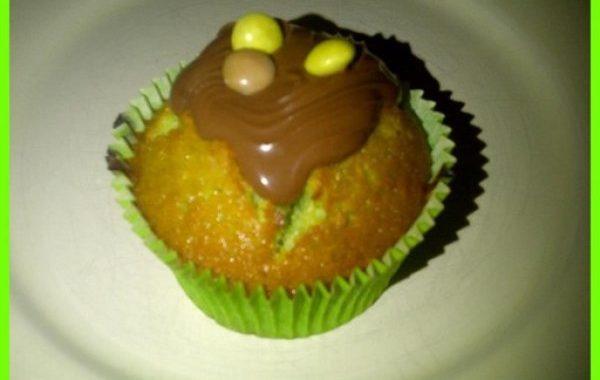 Muffins aux pistaches et Nutella