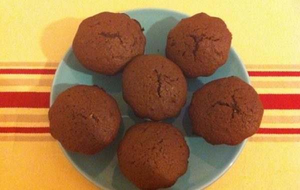 Muffin chocolat cœur abricot