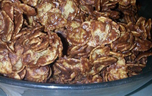 Roses des sables chocolat au lait et cannelle