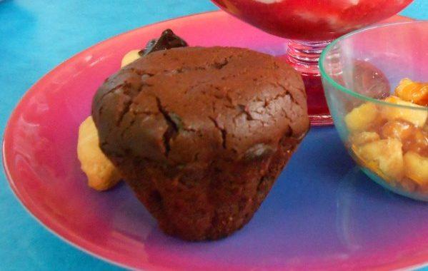 Mini-coulants au chocolat et au gingembre