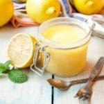 Mousse glacée au citron