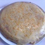 Gâteau au chocolat blanc et pistache (sans oeuf)