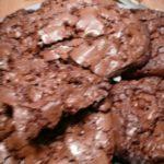 Cookies collants et croquants au chocolat miam miam