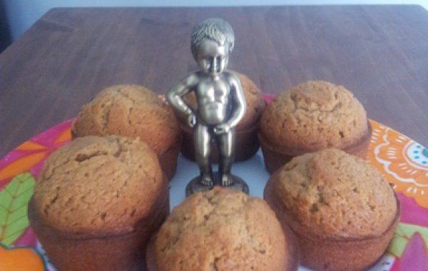 Muffins aux spéculoos
