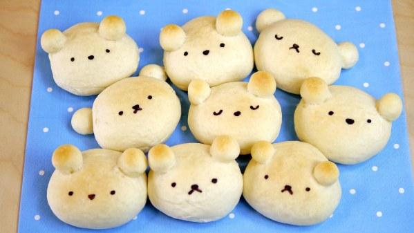 Petits oursons à la crème