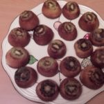 Petits gâteaux kiwi-orange
