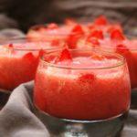 Barquettes de gelée de fraise