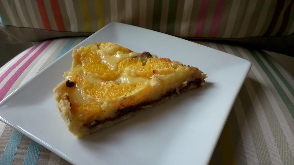 """Ma tarte chocolat orange façon """"tarte Julie"""""""
