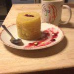Mugcake nature au lait