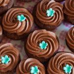 Cupcake menthe chocolat