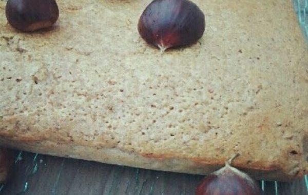 Gâteau châtaignes et noisettes