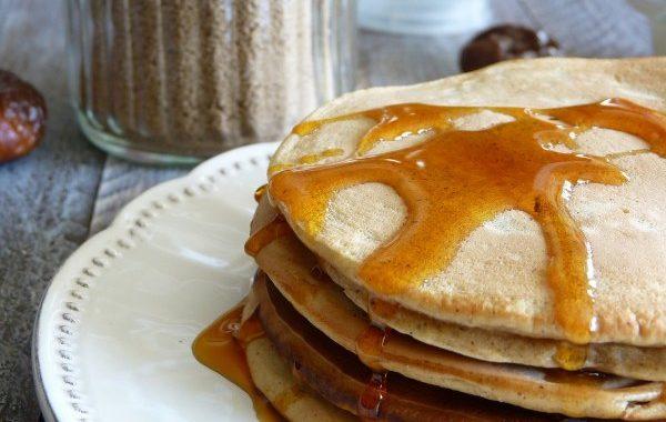 Pancakes aux noisettes et aux figues