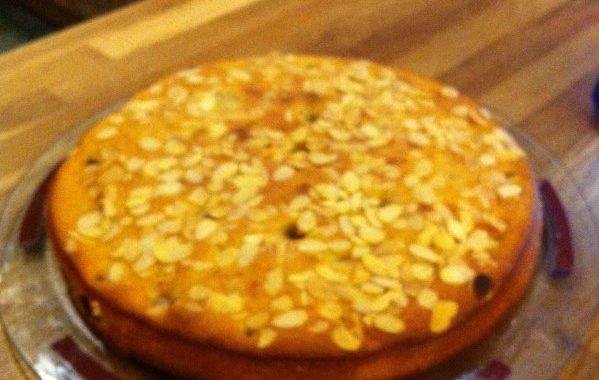 Gâteau amandes – framboises