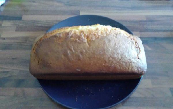 Gâteau au fromage blanc et à la fleur d'oranger