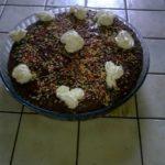 Gâteau facile, fruits, crème fraîche