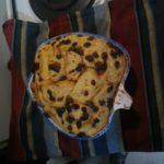 Pudding épicé au pain beurré