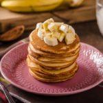 Pancakes aux pommes ou à la banane