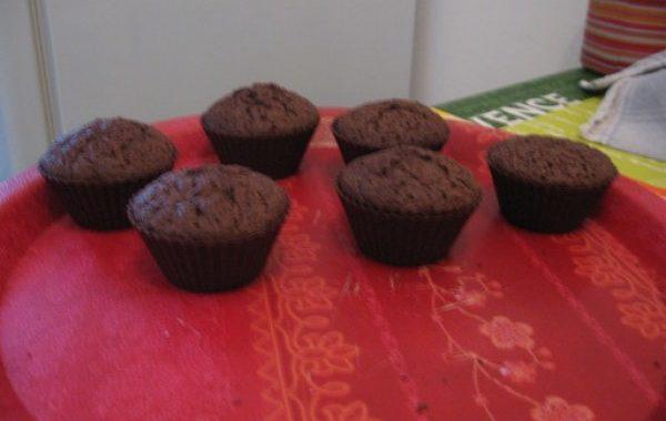Gâteau à la noix de coco, glaçage chocolat
