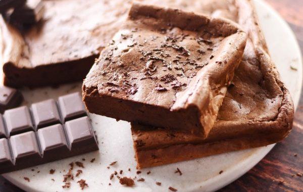 Fondant au chocolat sans beurre, sans farine, sans sucre